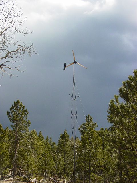 A BIG homebrew wind turbine