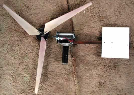 How to build a Wind Turbine with PVC Windmill Blades - Video