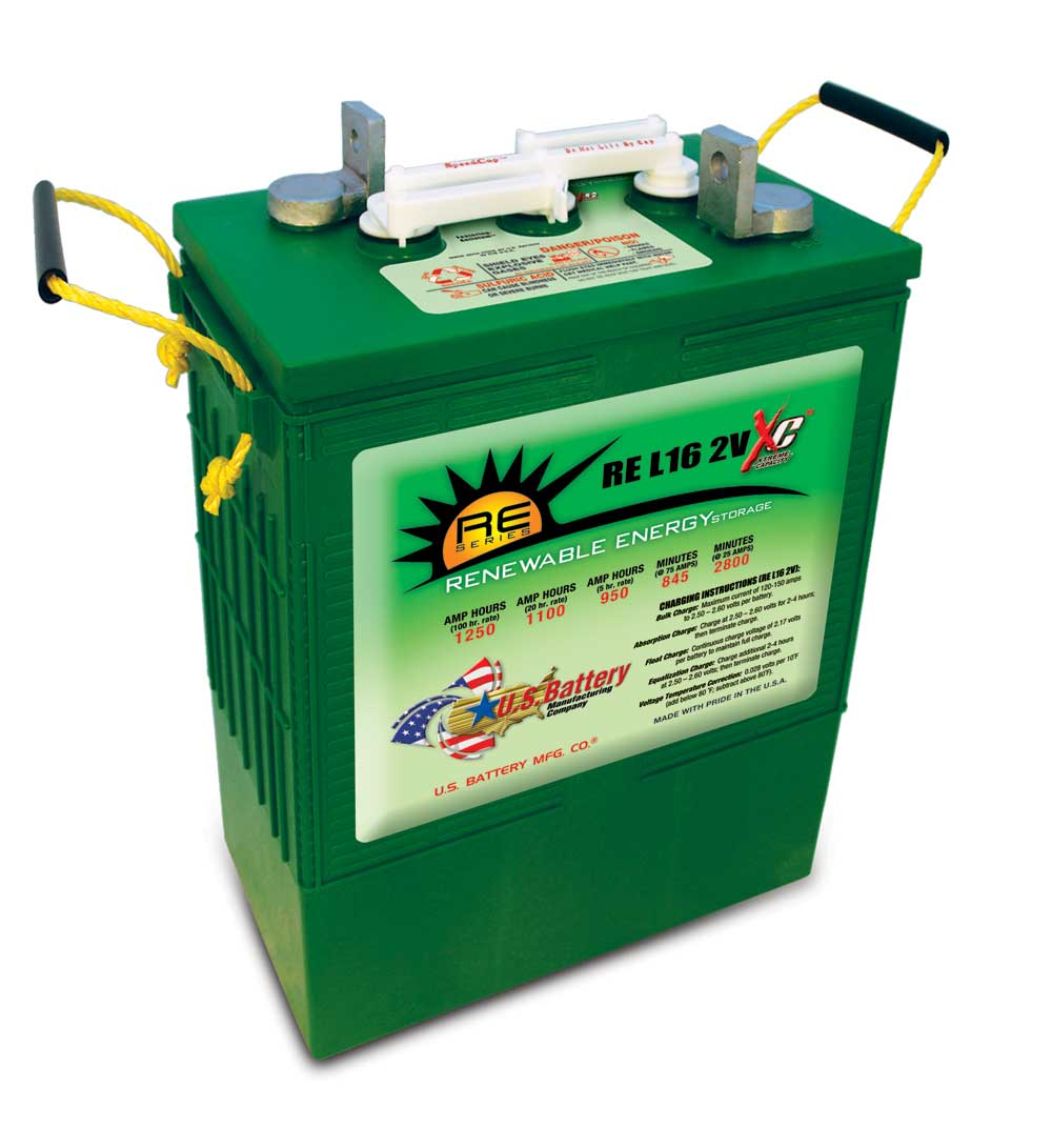 2 volt commercial grade L-16 battery